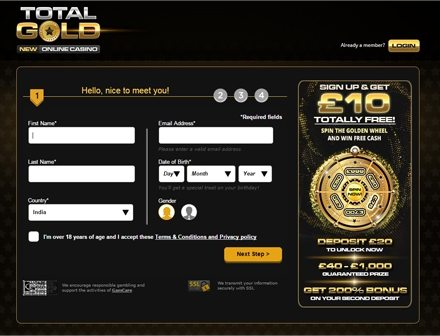 Play Total Gold Anywhere, Anytime