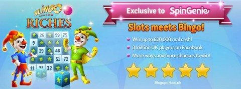 Slingo Riches Slots phone bill deposits at Spin Genie